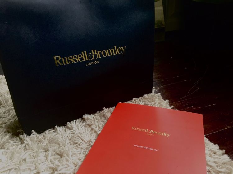russell an bromley gift bag