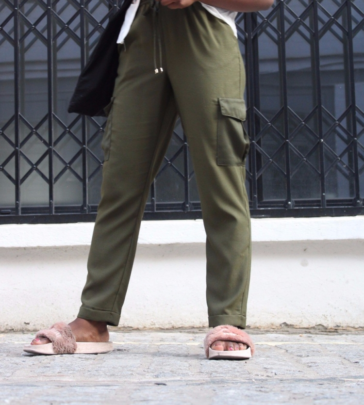 Army Combat Green Silk Trouser